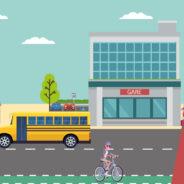 Privilégiez les transports alternatifs à la voiture.