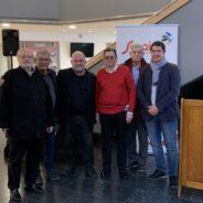 Jacques Deck et Philippe Raxhon sont devenus des citoyens d'honneur de la Ville de Seraing