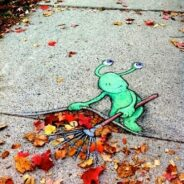 L'automne est de retour, les feuilles mortes aussi !